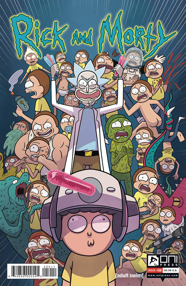Image: Rick and Morty #50 (cover A - Ellerby & Stern) - Oni Press Inc.