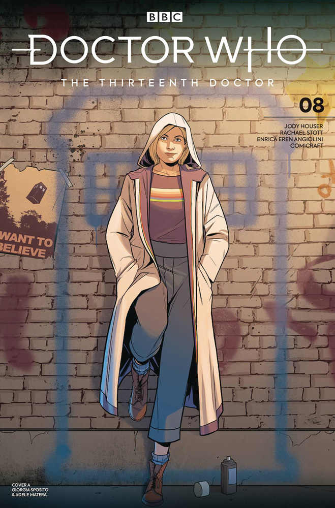 Image: Doctor Who: The Thirteenth Doctor #8 (cover A - Sposito) - Titan Comics