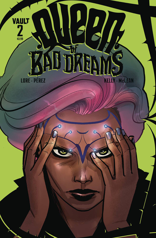 Image: Queen of Bad Dreams #2 - Vault Comics