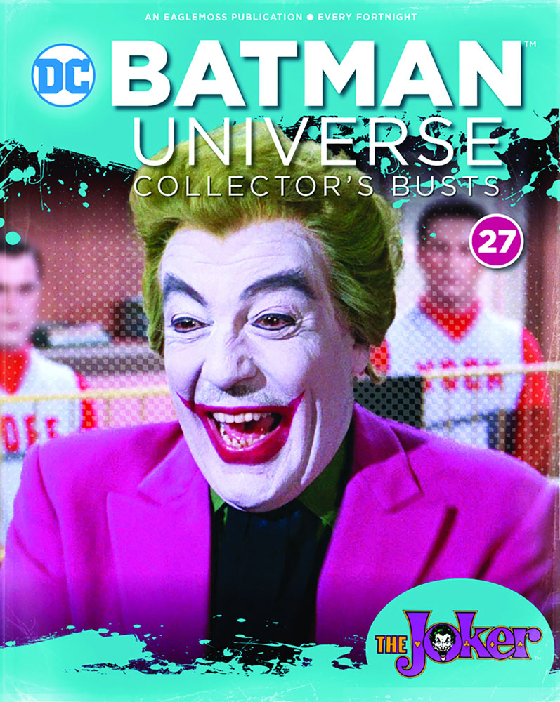 Batman Universe Collector's Bust: The Joker #27 (Batman Television Show) - Eaglemoss Publications Ltd