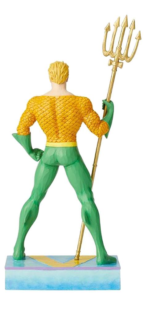DC Heroes Figurine: Aquaman, King of the Seven Seas  (Jim Shore) - Enesco Corporation