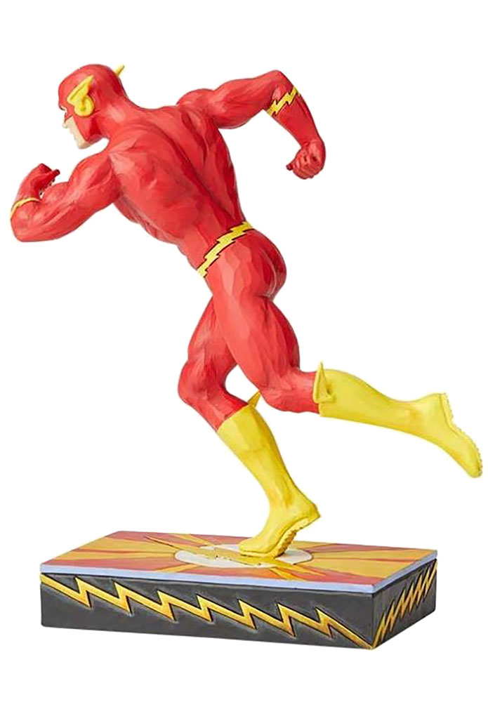 DC Heroes Silver Age Figurine: Flash by Jim Shore  - Enesco Corporation