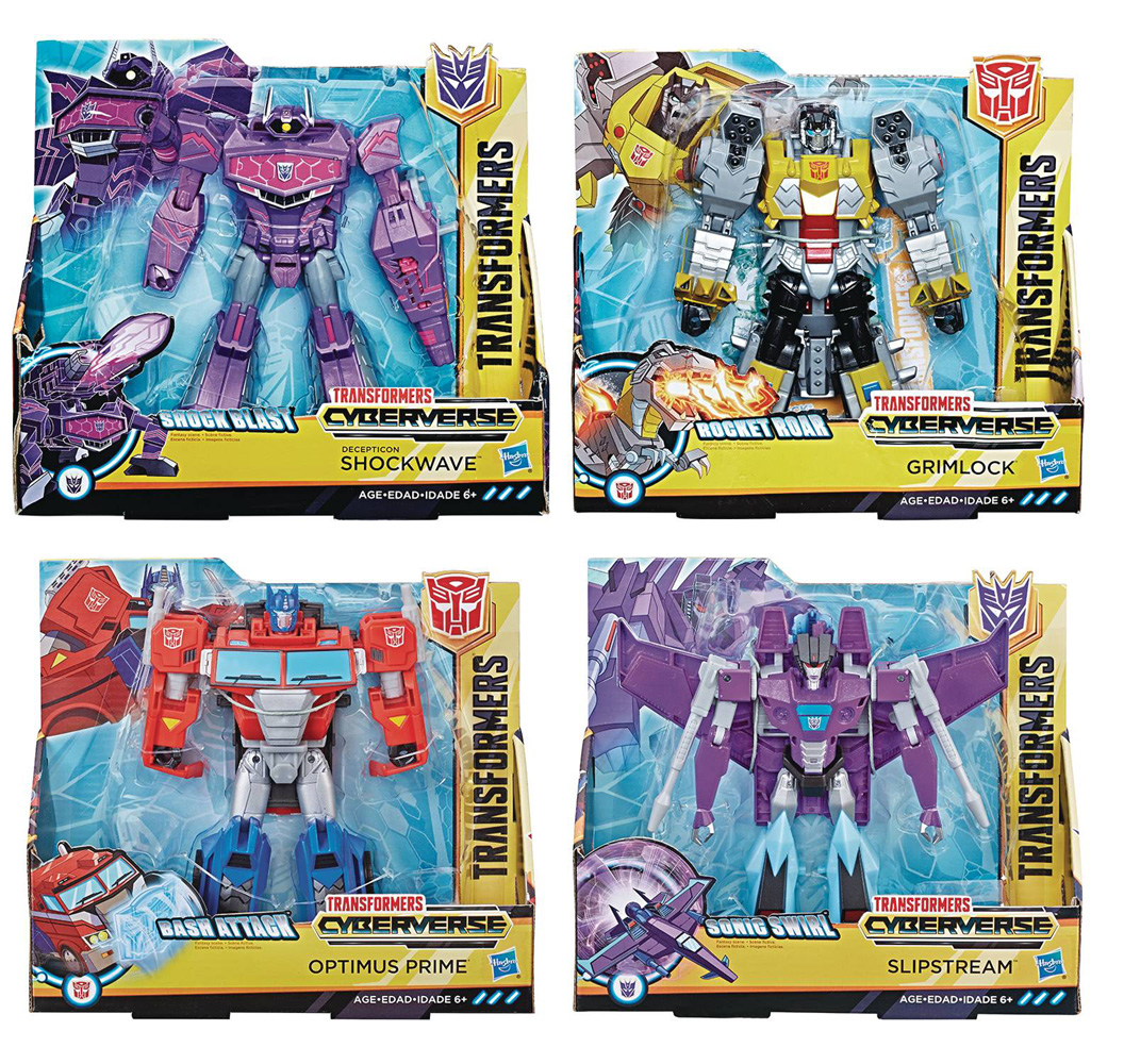 Image: Transformers Cyberverse Ultra Action Figure Assortment 201901  - Hasbro Toy Group