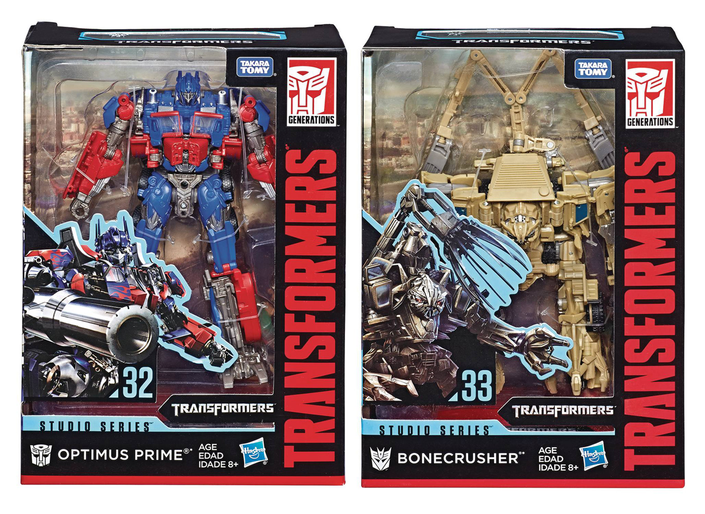 Image: Transformers Gen Studio Series Voyager Action Figure Assortment 201901  - Hasbro Toy Group