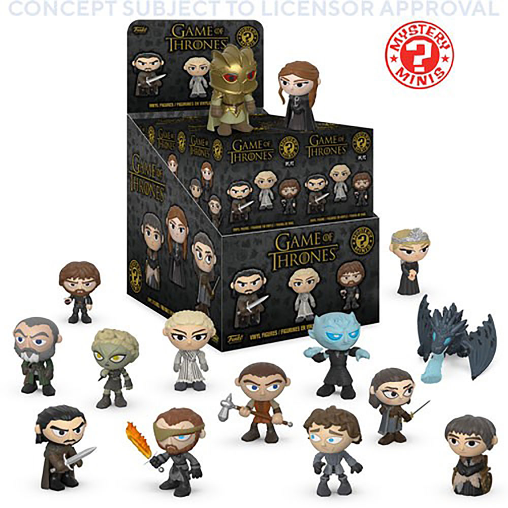 Mystery Minis Game of Thrones Series 4 12-Piece Blind Mystery Box Display  - Funko