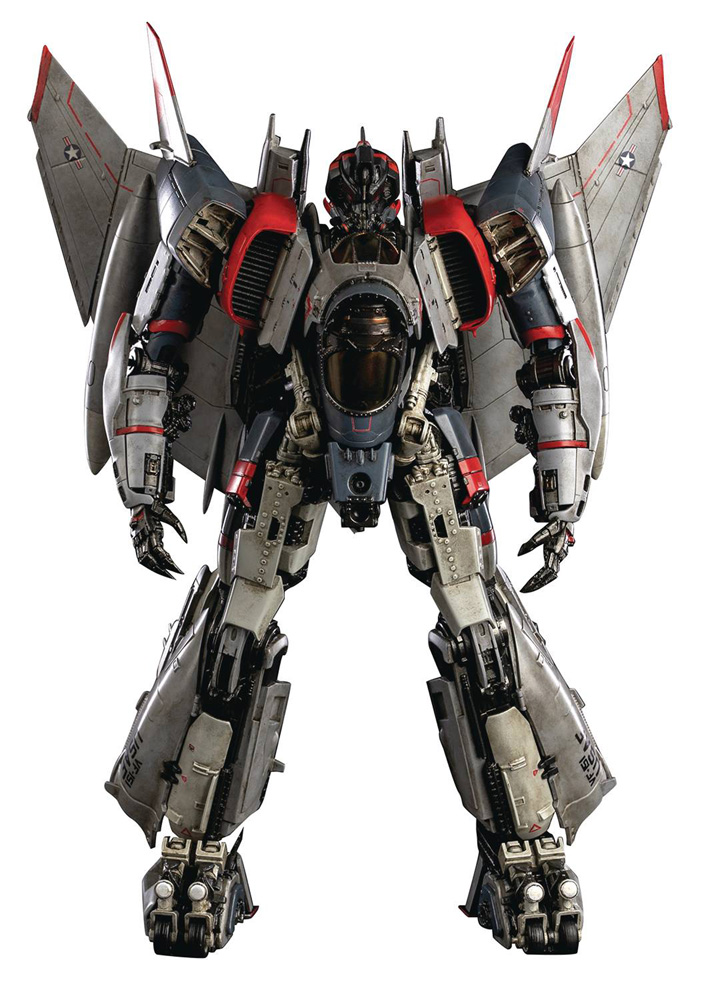 Image: Transformers Deluxe Scale Figure: Blitzwing  - Three A Trading Company Ltd
