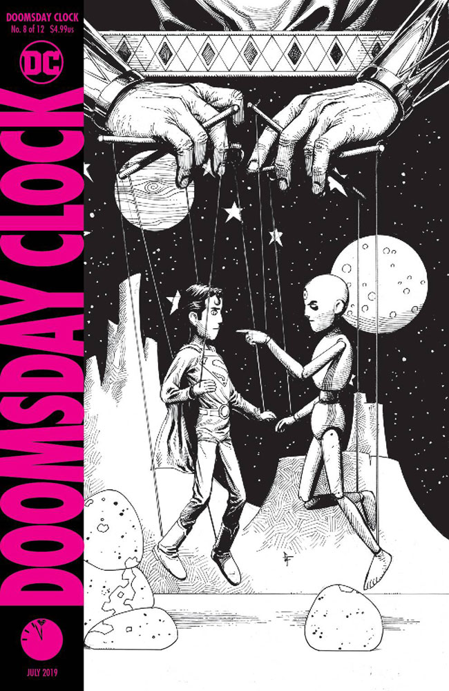 Doomsday Clock 8 Variant 2nd Printing Cover 2019 Westfield