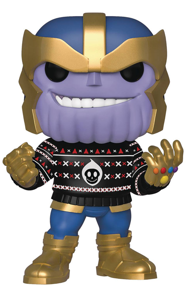 Image: Pop! Marvel Holiday Vinyl Figure: Thanso  -