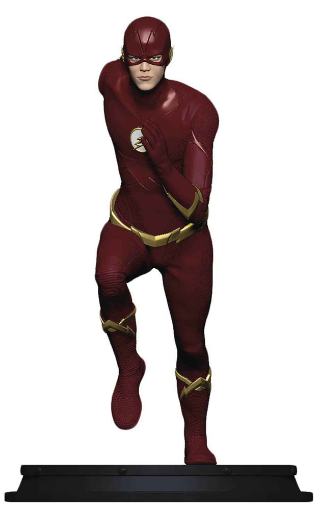 Image: DC CW Flash Statue: Flash  (Season 5) -