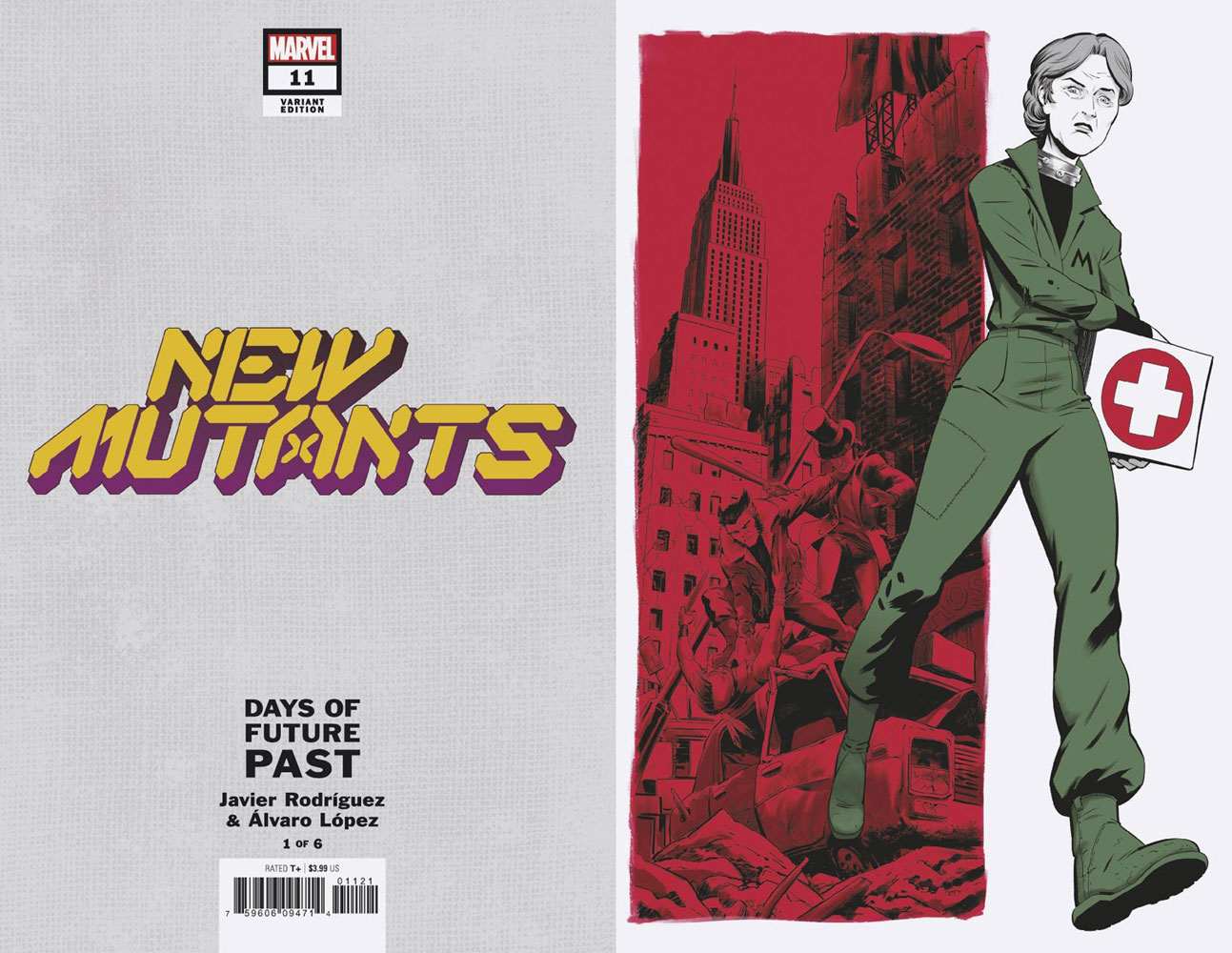 New Mutants #11 (incentive Days of Future Past 1:05 cover - Rodriguez)  [2020] - Marvel Comics