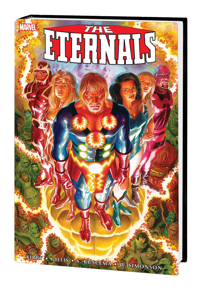 The Eternals: The Complete Saga Omnibus Alex Ross cover