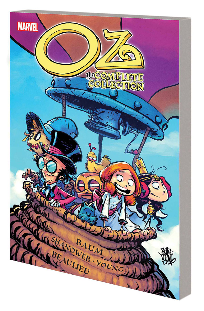 Image: Oz Complete Collection: Ozma Dorothy & Wizard GN SC  - Marvel Comics