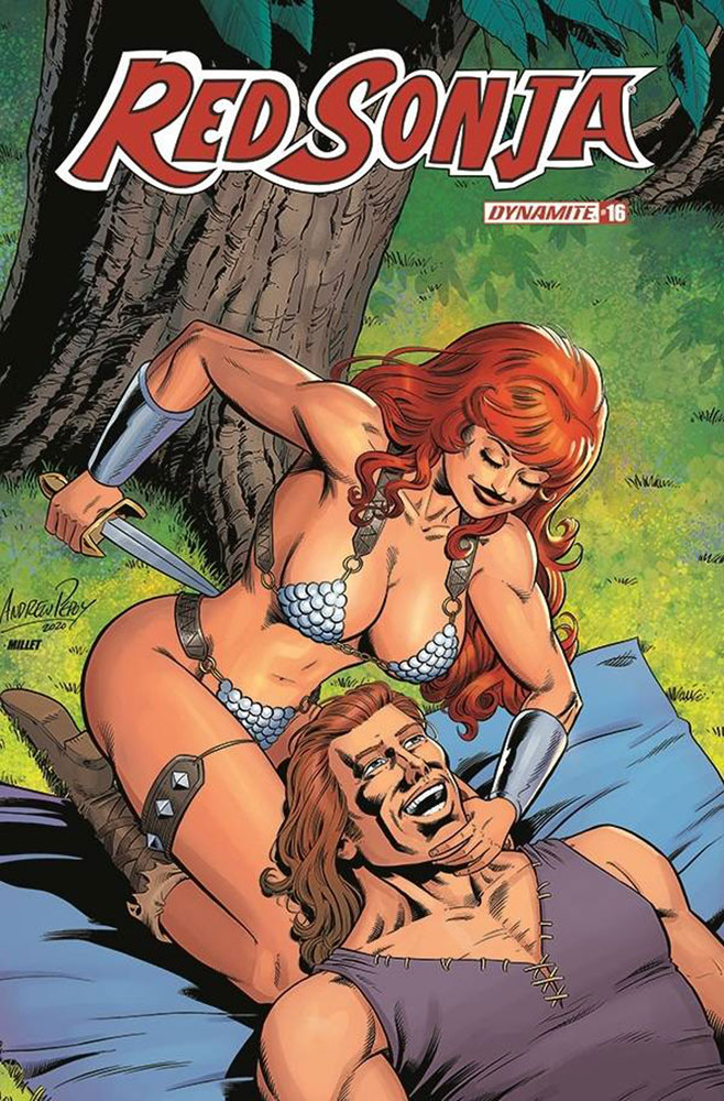 Image: Red Sonja Vol. 05 #16 (incentive 1:10 cover - Pepoy Seduction)  [2020] - Dynamite
