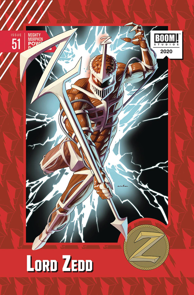 Image: Mighty Morphin Power Rangers #51 (incentive 1:10 cover - Anka) - Boom! Studios