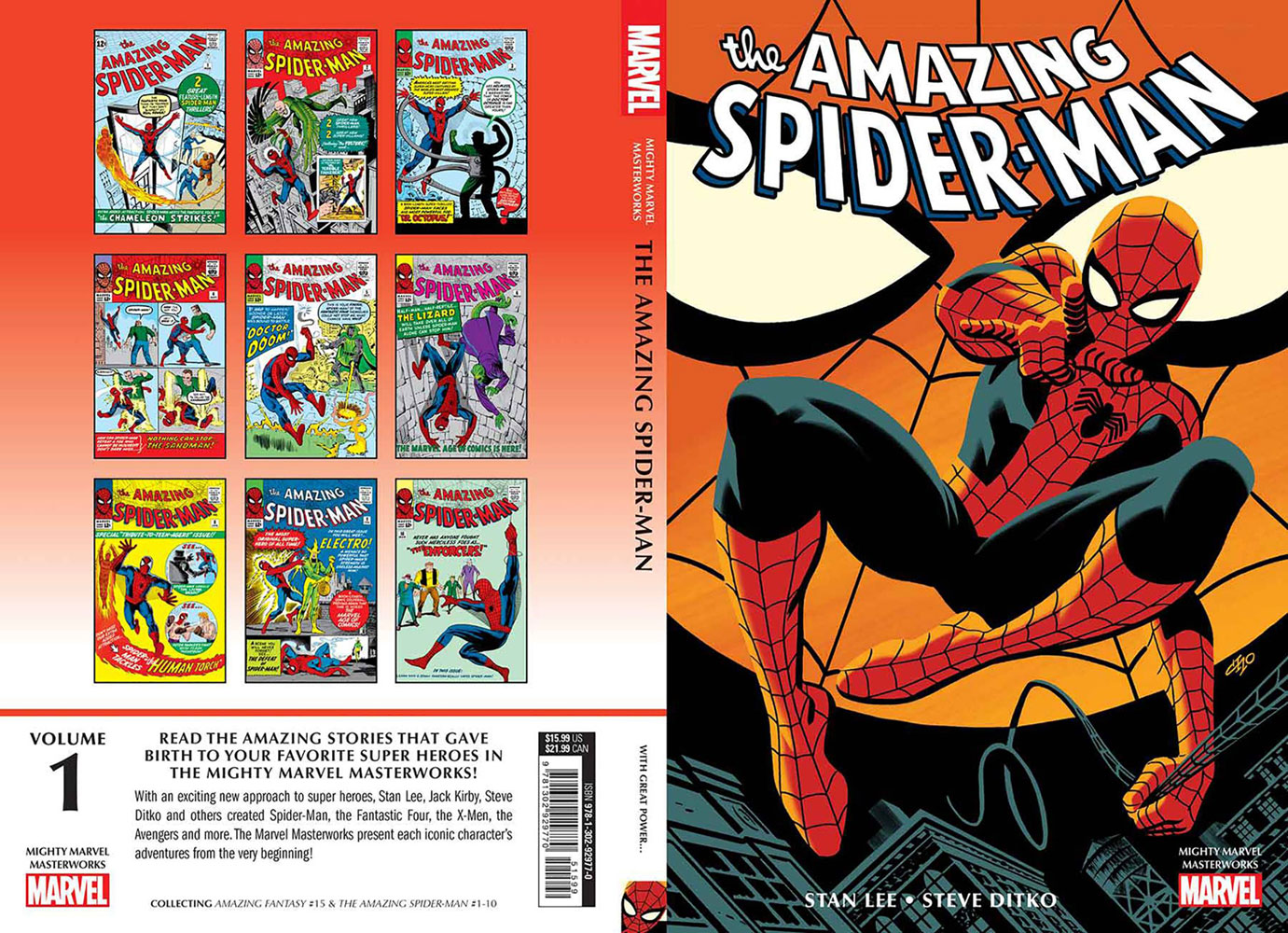 Mighty Marvel Masterworks: The Amazing Spider-Man - With Great Power... SC  - Marvel Comics