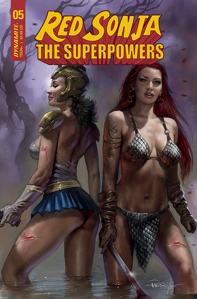 Image: Red Sonja: The Superpowers #5 (cover A - Parrillo) - Dynamite