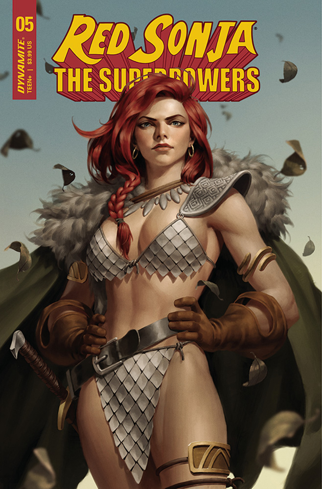 Image: Red Sonja: The Superpowers #5 (cover B - Yoon) - Dynamite