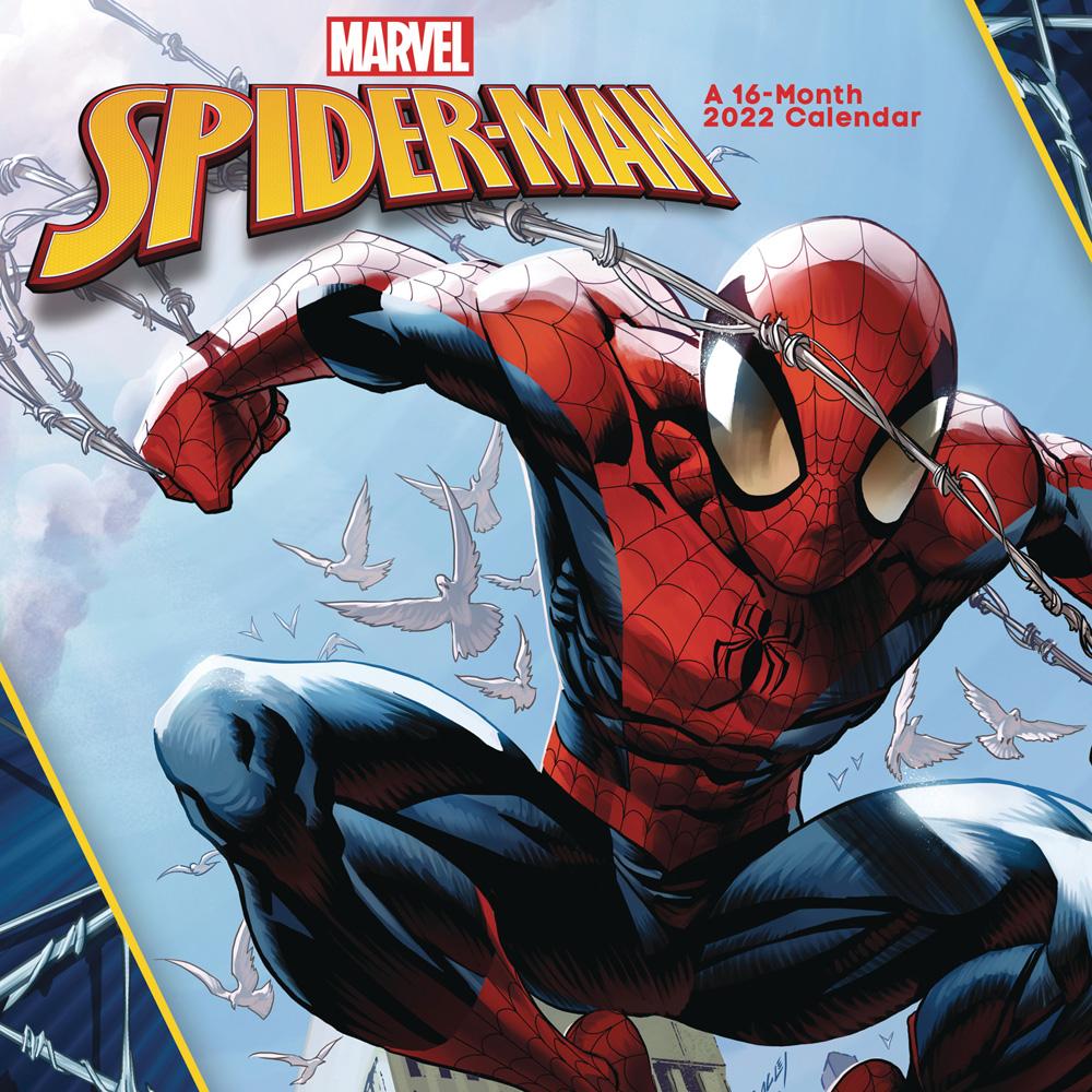 Wow Calendar 2022.Marvel Spider Man 2022 Wall Calendar Westfield Comics