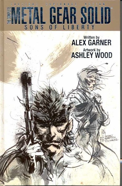 Image: Complete Metal Gear Solid: Sons of Liberty HC  - IDW Publishing