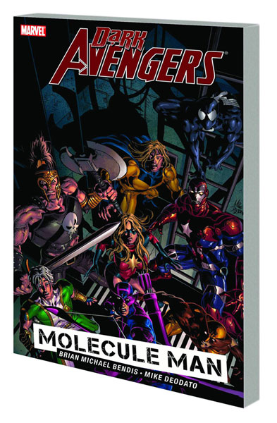 Image: Dark Avengers Vol. 02: Molecule Man SC  - Marvel Comics