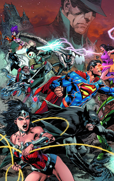 Image: Justice League #22 (Trinity) - DC Comics