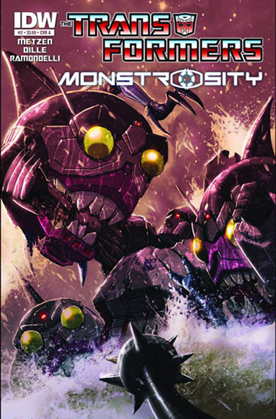 Transformers: Monstrosity #2 - IDW Publishing