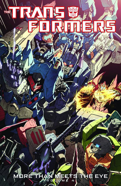 Image: Transformers: More Than Meets the Eye Vol. 04 SC  - IDW Publishing
