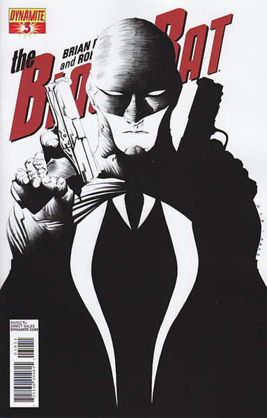 Image: Black Bat #3 (10-copy Lee B&W incentive cover) - Dynamite