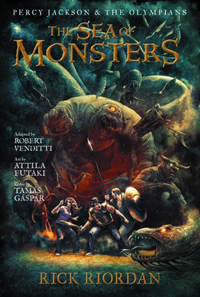 Image: Percy Jackson & The Olympians Vol. 02: Sea of Monsters SC  - Hyperion Books