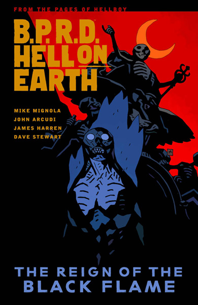 Image: B.P.R.D. Hell on Earth Vol. 09: The Reign of the Black Flame SC  - Dark Horse Comics