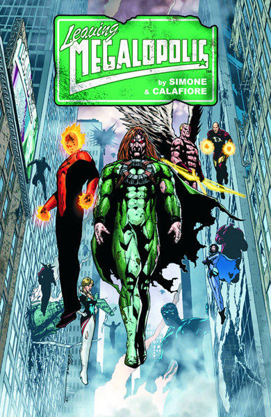 Image: Leaving Megalopolis HC  - Dark Horse Comics