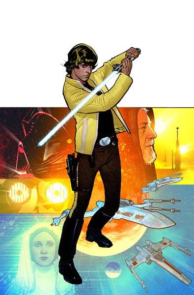 Image: Star Wars: Rebel Heist #4 (Hughes cover) - Dark Horse Comics