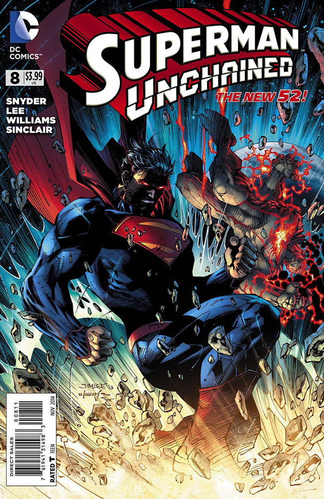 Image: Superman Unchained #8 - DC Comics