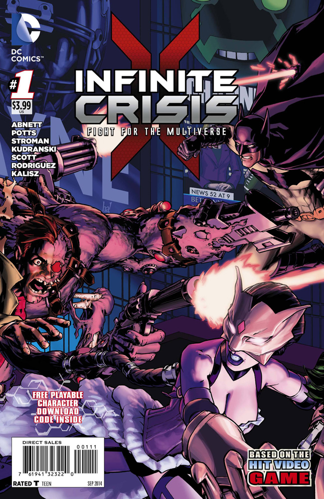 Image: Infinite Crisis: Fight for the Multiverse #1 - DC Comics