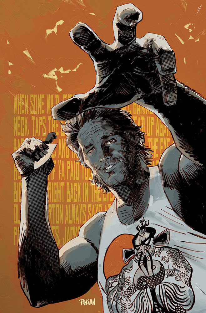 Image: Big Trouble in Little China #2 (variant incentive cover - Dan Panosian) (25-copy) - Boom! Studios