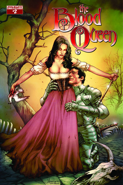 Image: Blood Queen #2 (cover A - Anacleto) - Dynamite