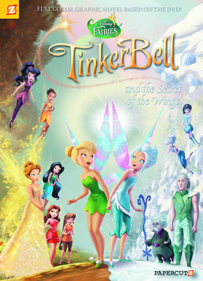 Image: Disney Fairies Vol. 15: Tinker Bell and The Secret of the Wings SC  - Papercutz