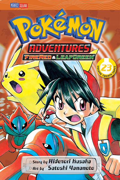 Image: Pokemon Adventures: FireRed & LeafGreen Vol. 23 SC  - Perfect Square