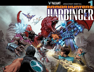 Image: Armor Hunters: Harbinger #1 (regular cover - Larosa) (Web Super Special) - Valiant Entertainment LLC