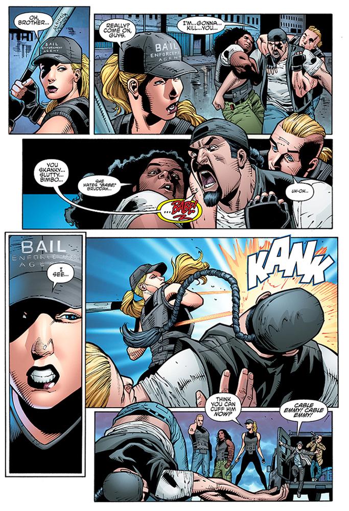 Barb Wire Vol. 02 #1 (variant cover - Hughes) - Dark Horse Comics