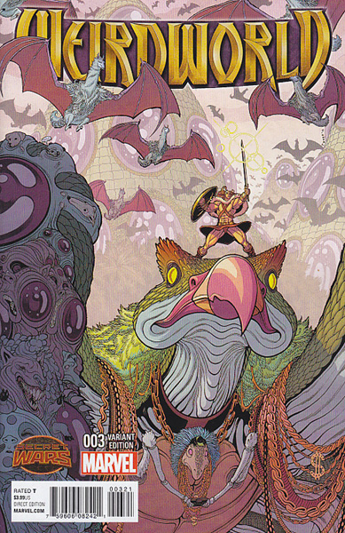 Image: Weirdworld #3 (variant cover - Moore) - Marvel Comics