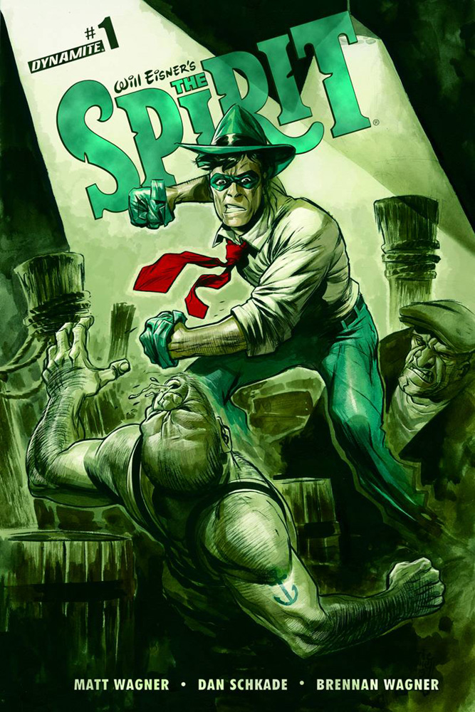 Image: Will Eisner's The Spirit #1 (cover A - Powell) - Dynamite