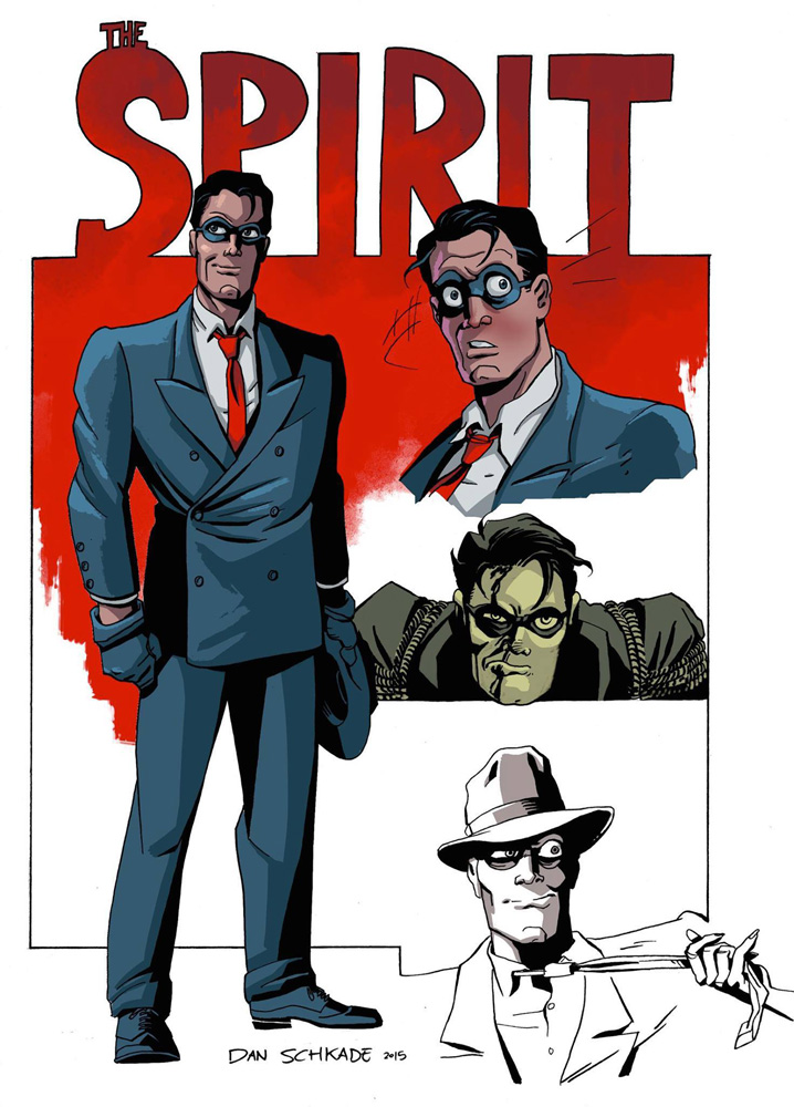 Will Eisner's The Spirit #1 (cover E - Cassaday incentive) (10-copy) Incv - Dynamite