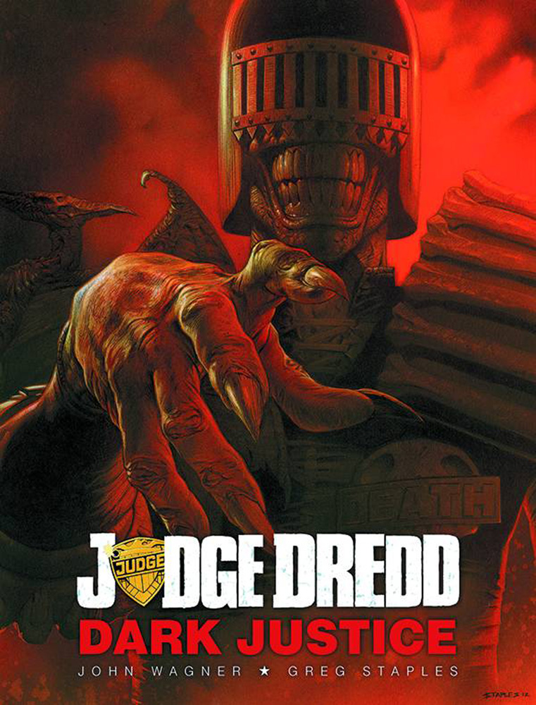 Image: Judge Dredd: Dark Justice HC  - Rebellion / 2000AD