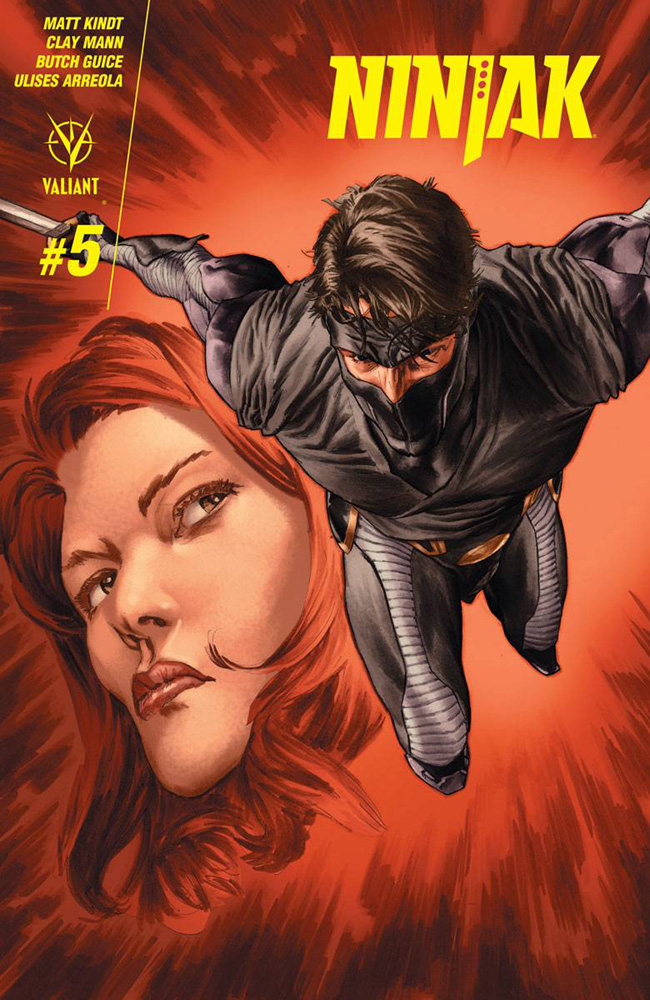 Image: Ninjak #5 (cover A - Larosa) - Valiant Entertainment LLC