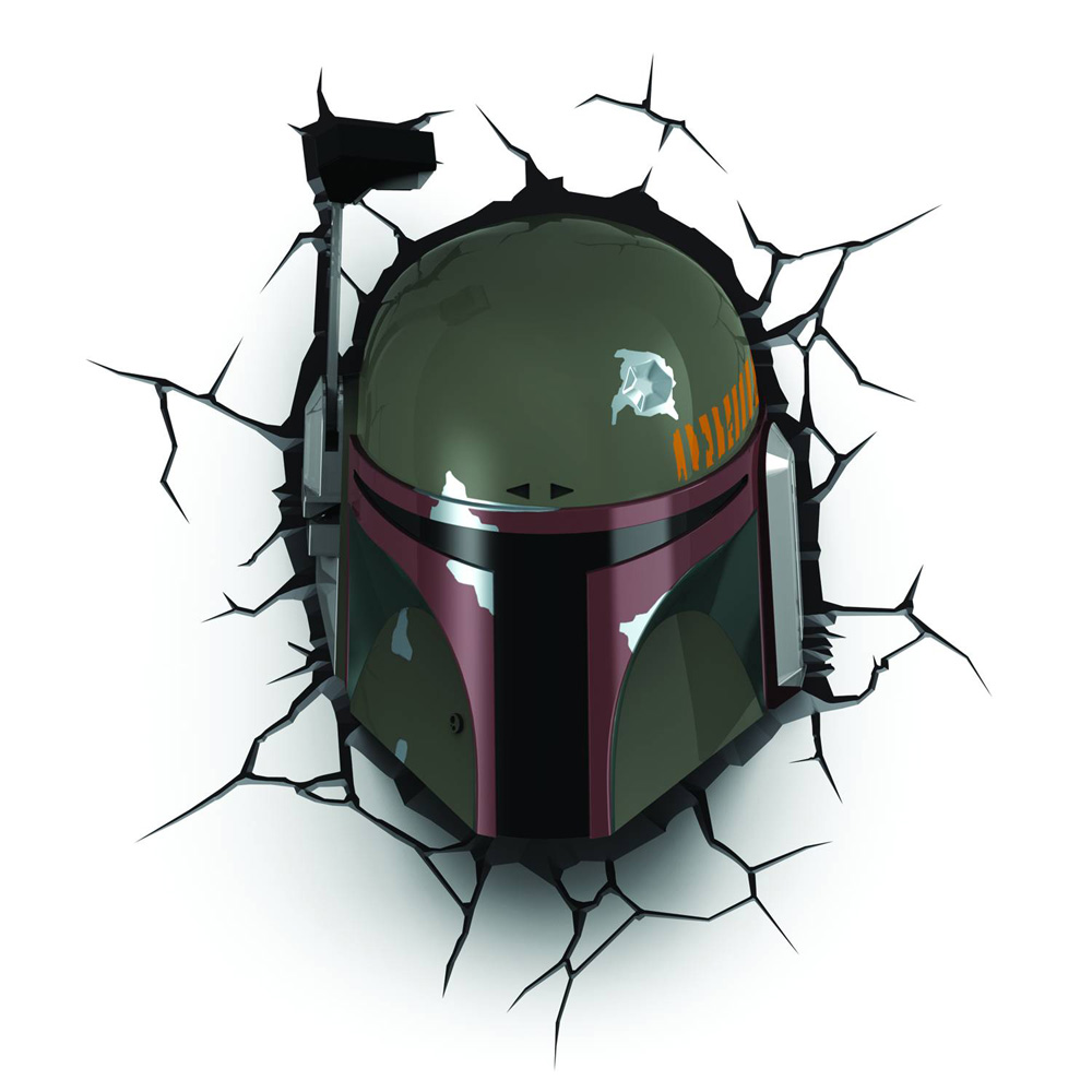 Image: Star Wars 3D Night Light: Boba Fett  -
