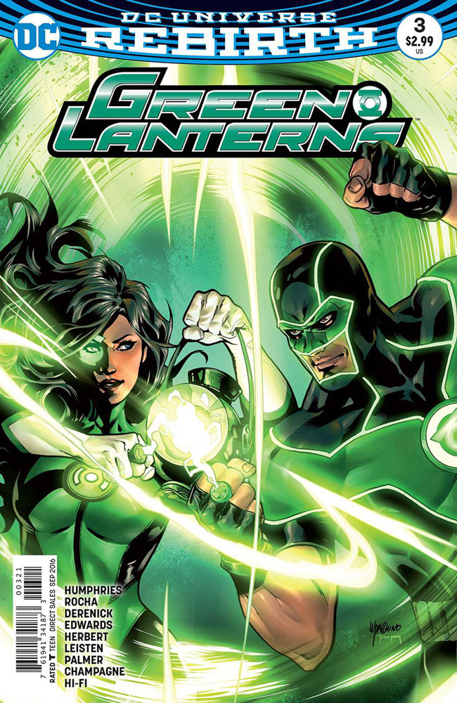 Image: Green Lanterns #3 (variant cover - Emanuela Lupacchino) - DC Comics
