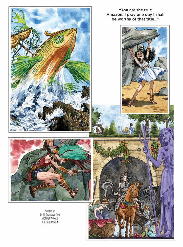 Wonder Woman: The True Amazon HC  - DC Comics