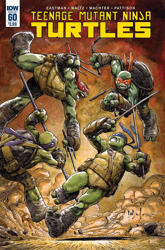 Image: Teenage Mutant Ninja Turtles #60 - IDW Publishing