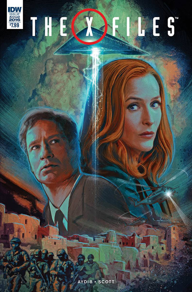 Image: X-Files Annual 2016  - IDW Publishing